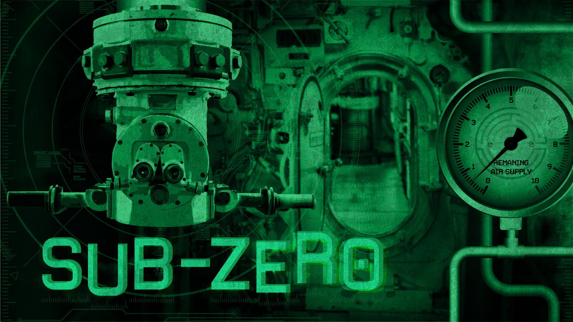 sub zero - The HMS Unicorn is an old sturdy submarine. On its last voyage before being decommissioned it seems the old sea dog has decided that its final resting place is here, in the middle of the ocean. The generators have died and you have enough power for the engines and oxygen for just a short period. You've got 60 minutes to get the generators back online and save your crew.