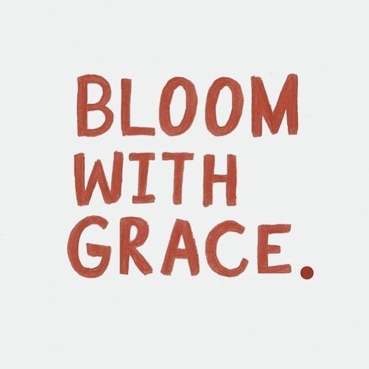My word of the year was bloom. I am blooming. Daily. I am not the same person I was a year ago. I am grateful for that.  What have you done to bloom this year?  #wordoftheyear #inspiration #bloomwithgrace #grace