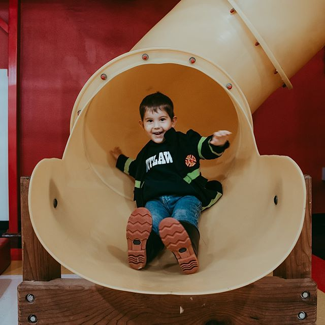 Remember how I get on my soap box about creating experiences all the time? This is why. My mom and I took my sweet nephews to a children's museum the other day. Look at that REAL smile! I don't get this taking staged family photos. I get this taking him to a museum to have a fun day together.  #real #experience #smile #family #nephew #love #genuine #letthembelittle #childrensmuseum  #oklahomafamilyphotographer