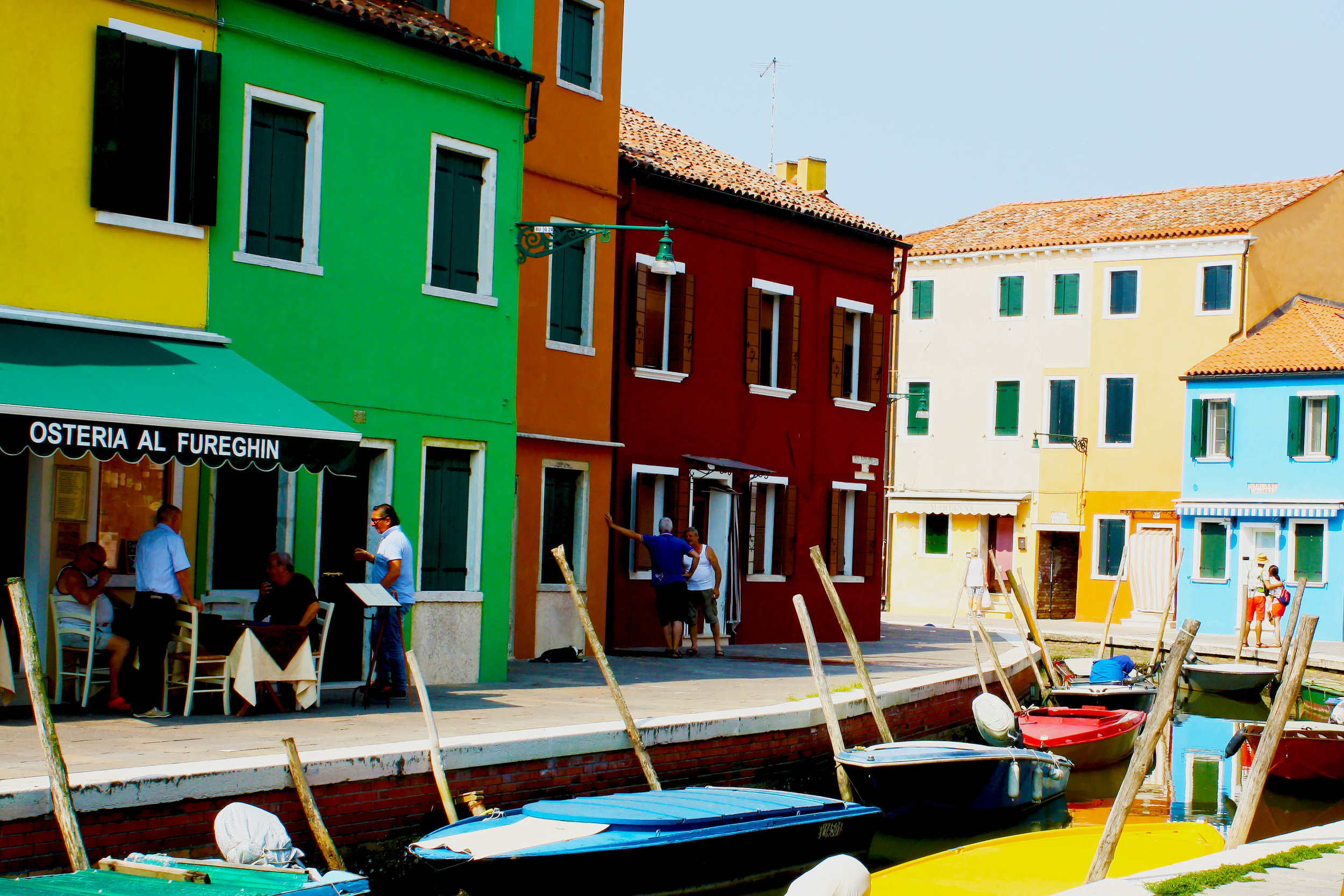 Scene from Burano | Why I don't like Venice | The Lavorato Lens