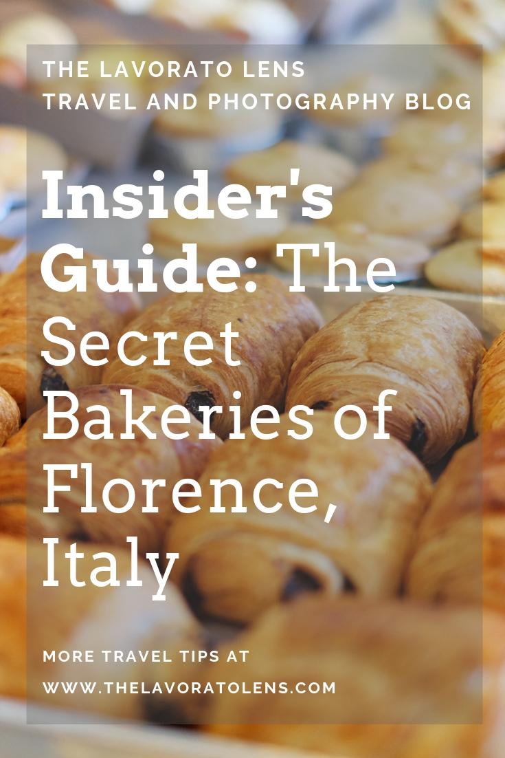 Insider's Guide: Secret Bakeries of Florence | The Lavorato Lens