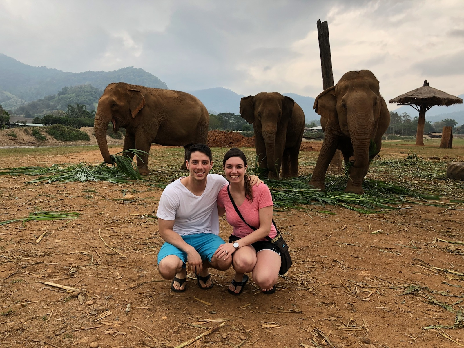 Here I am, wearing the KAVU cross-body bag at the Elephant Nature Park in Chiang Mai, Thailand. This bag has been to 14 different countries over the span of 11 years and it doesn't look like it's about to wear down yet.
