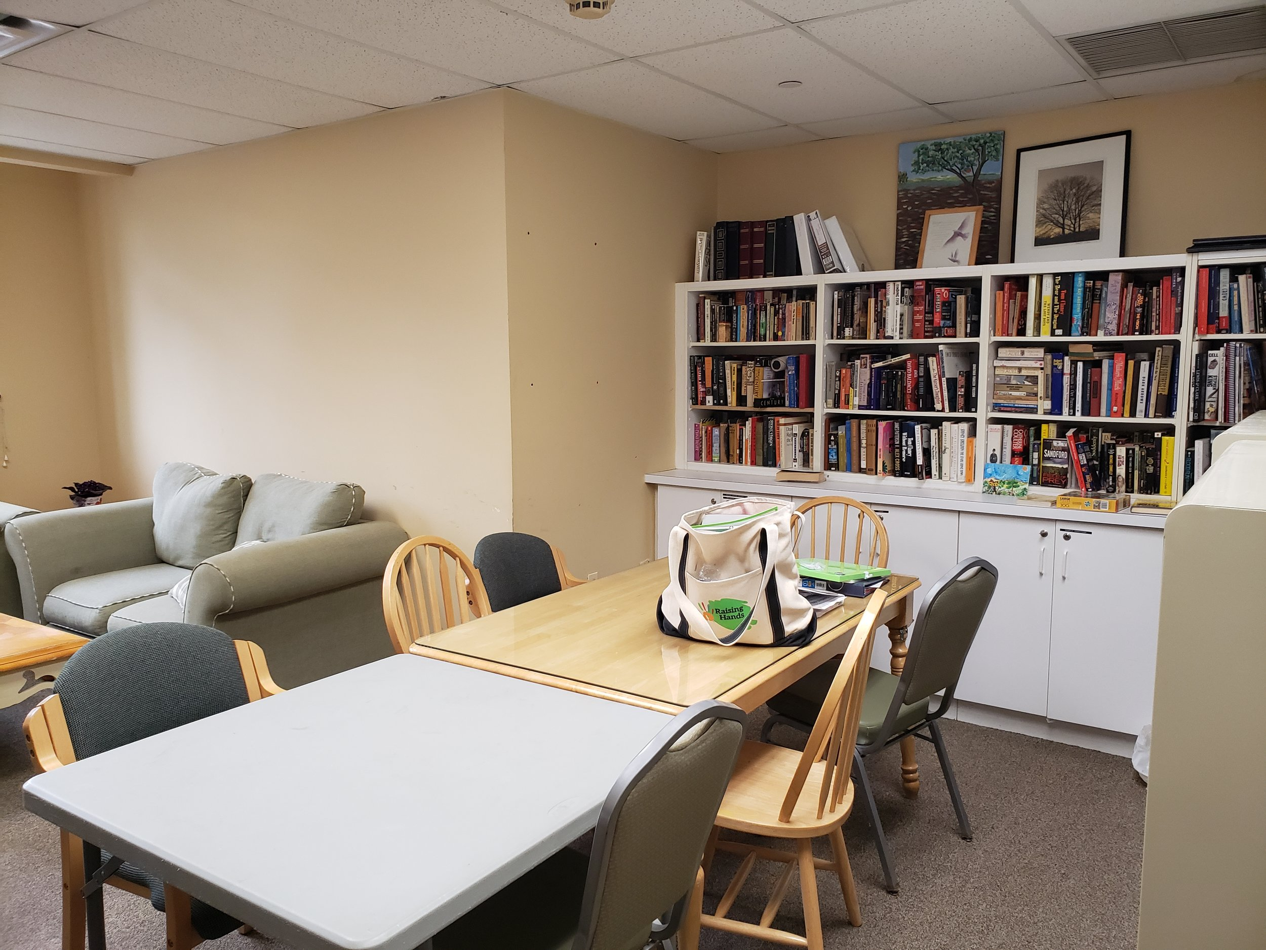 Before… - Our goal is to make this a space that is both tutoring friendly and accessible to the Highland Park Community.