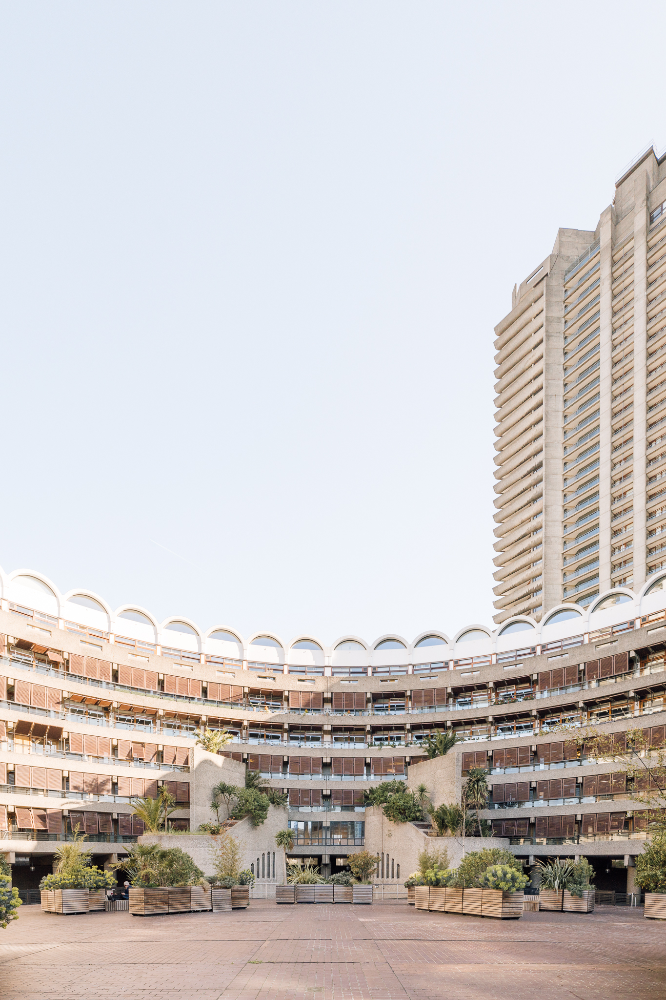 Barbican Estates by Chamberlin, Powell & Bon