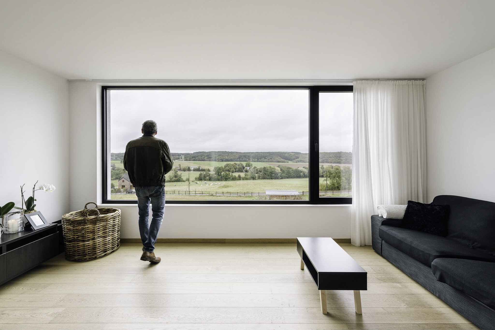 House by Quattro-Concept Architects in Assesse, Belgium