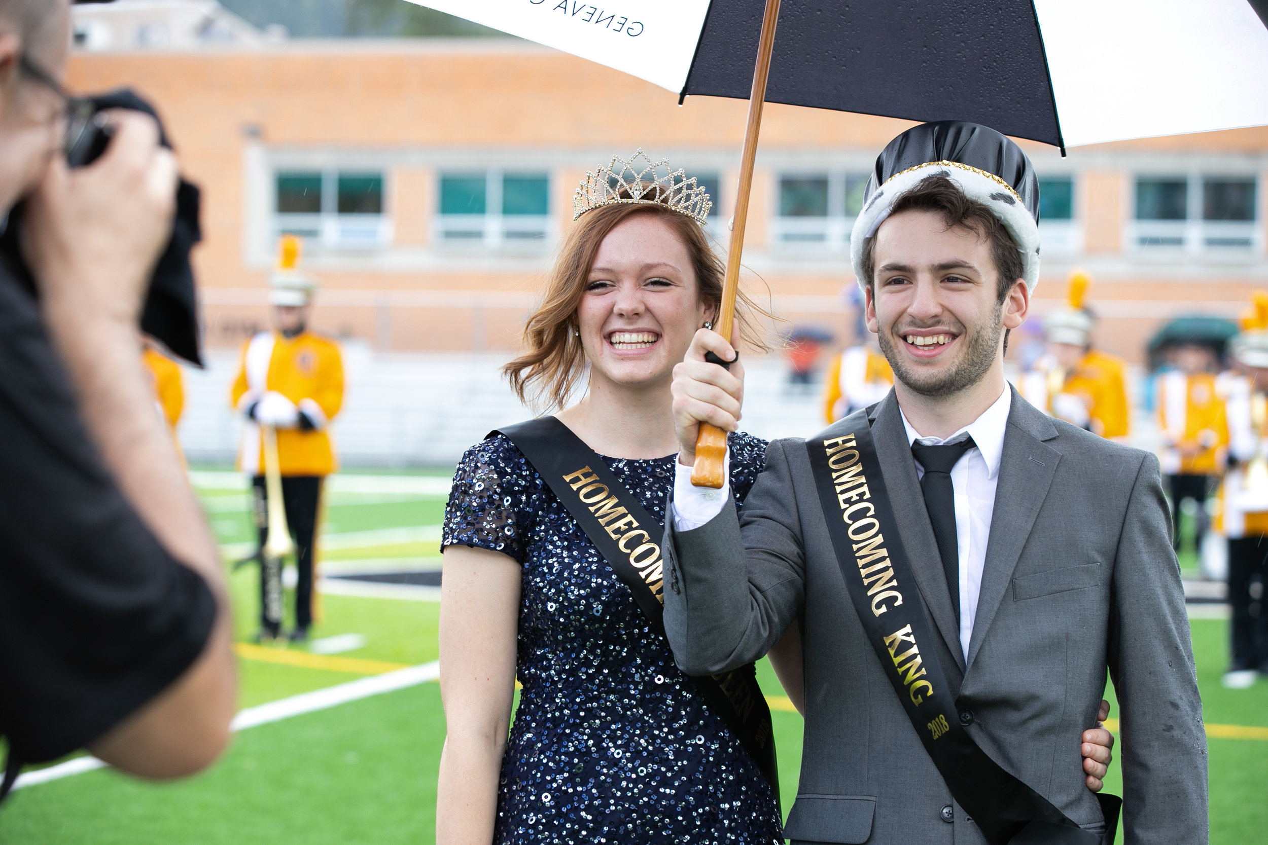 A New Reign Despite the Rain: Homecoming Court 2018