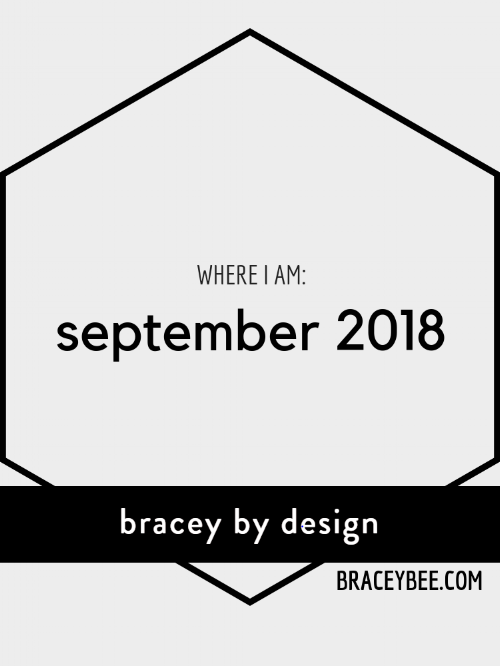 september 2018 update bracey by design
