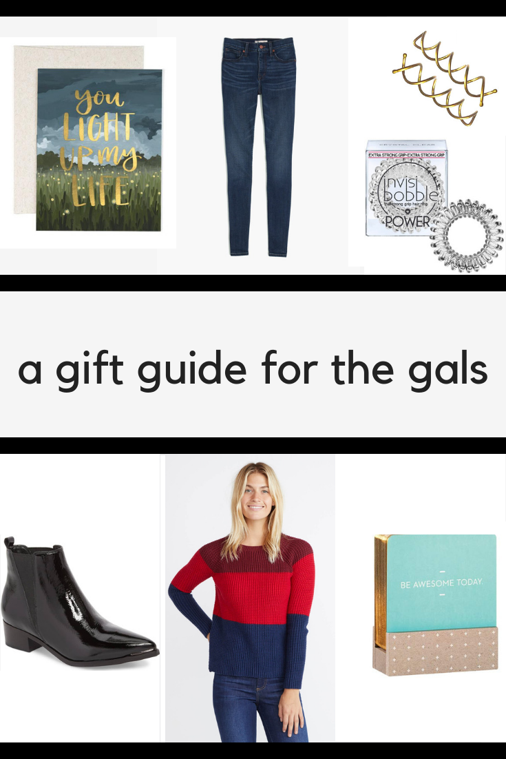 gift guide for gals
