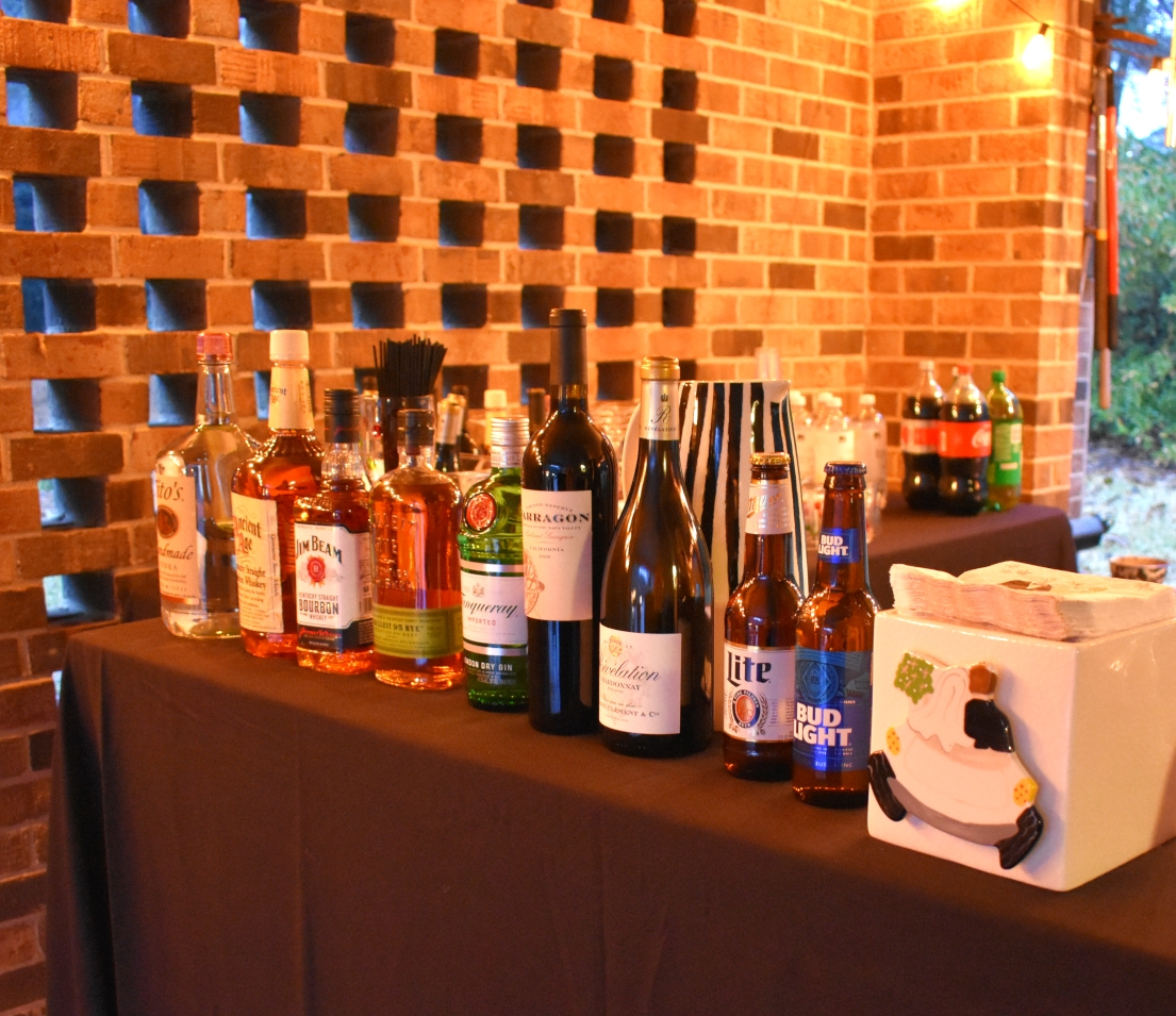 Consider guests when choosing Drinks + Food - Is the crowd mostly beer drinker? Wine? Cocktail? If the party is thrown for someone in particular, make sure you have their favorites. Do you have food for vegetarians? Bonus points for gluten free crackers.