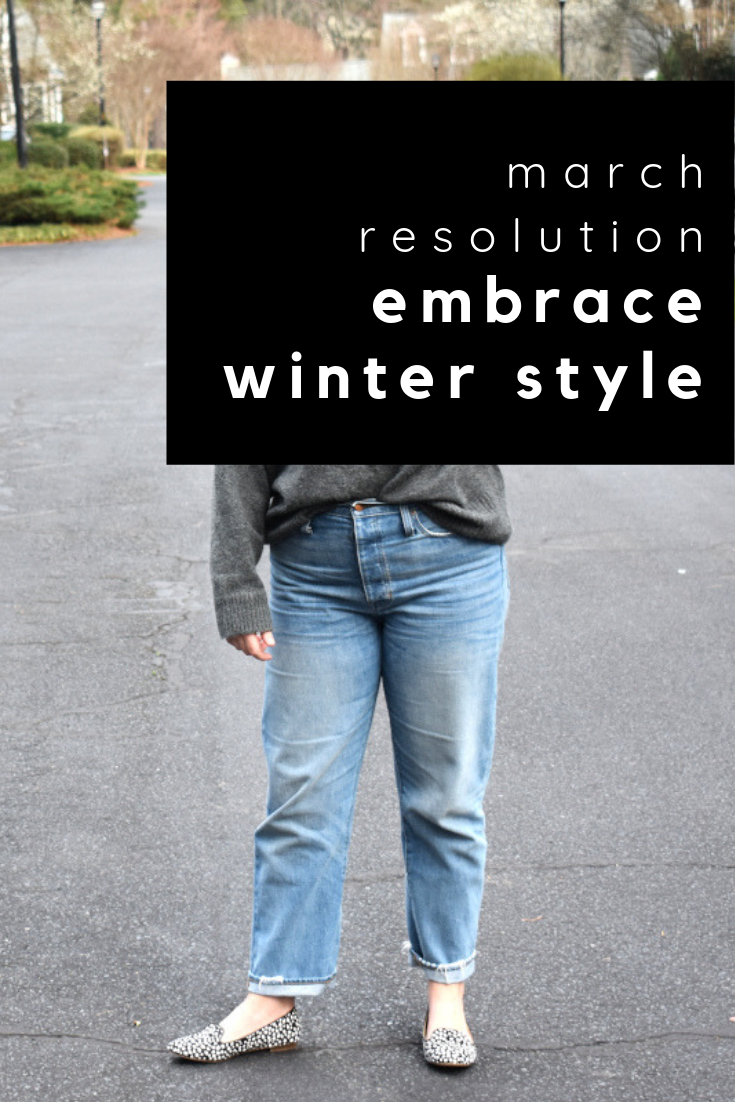 embrace winter style