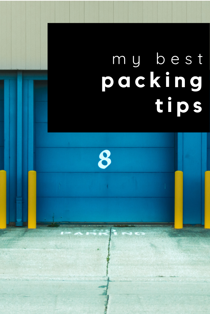 my best packing tips
