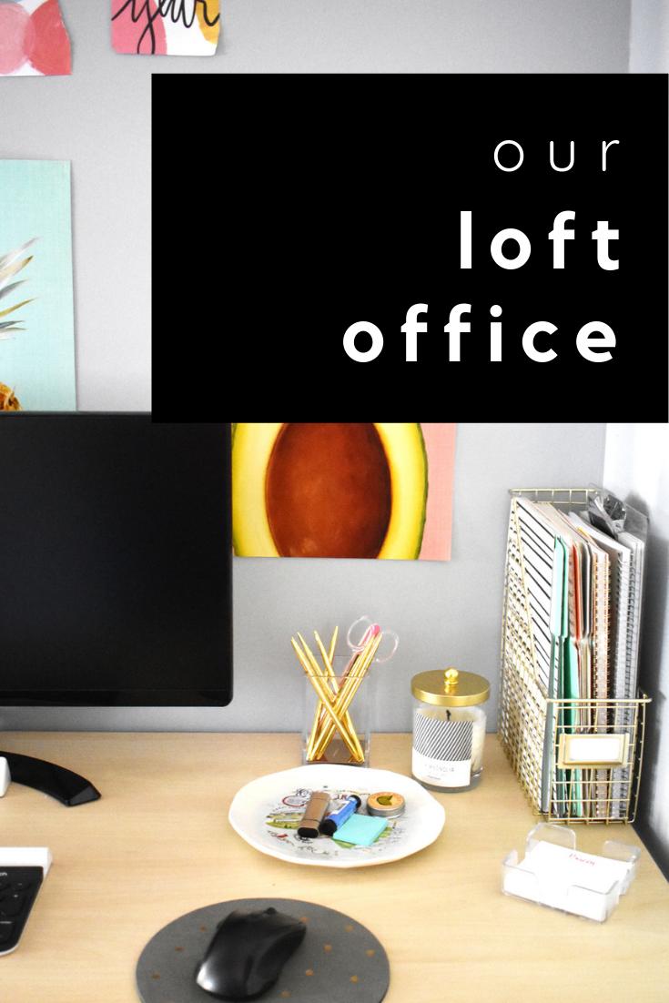our loft office
