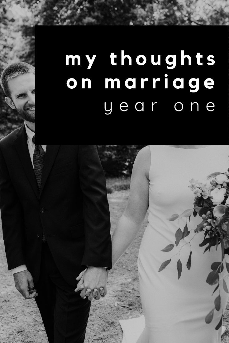 my thoughts on marriage: year one