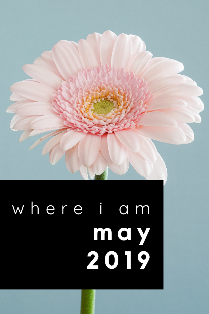 where i am: may 2019
