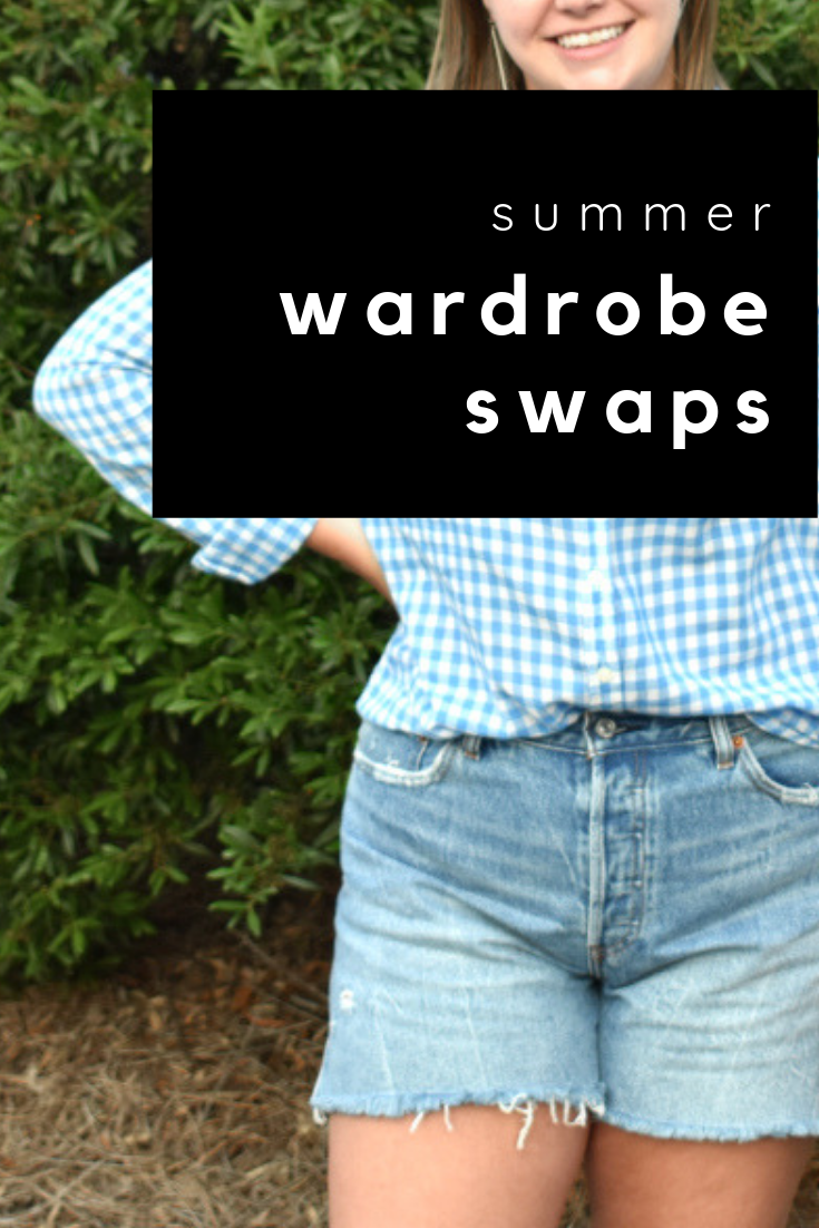 summer wardrobe swaps