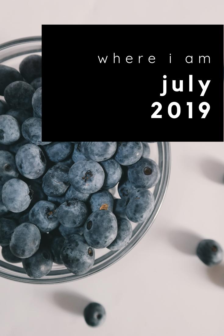 where i am july 2019
