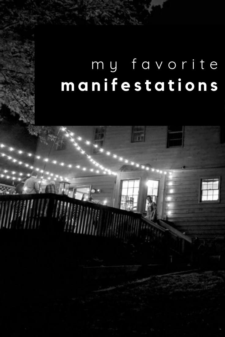 my favorite manifestations