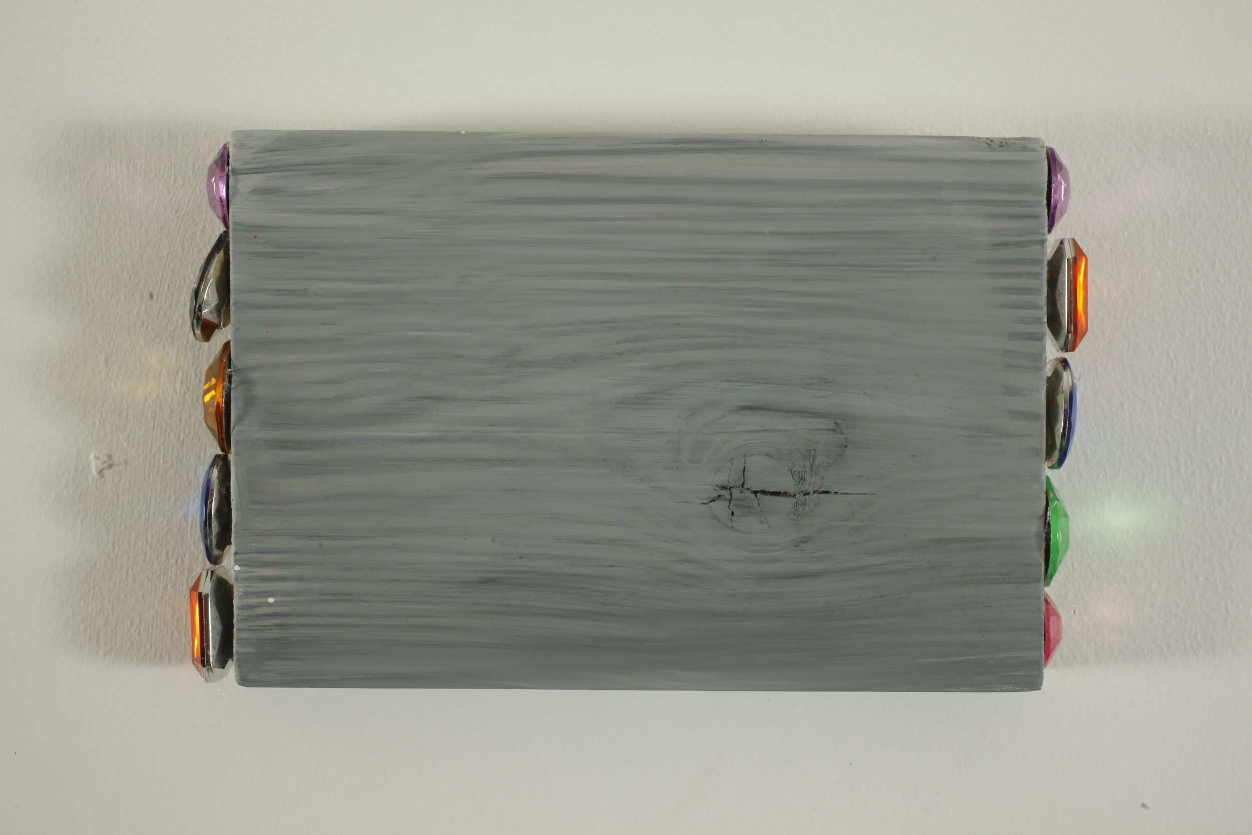 Relic - painted wood and fake crystals - 12cmx17cm -2012.jpg