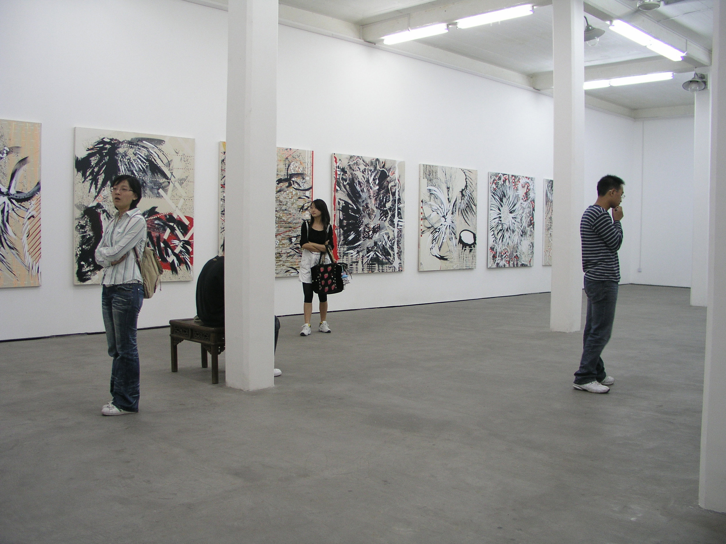 View from the exhibition / Temperamental meditations / Gallery 55