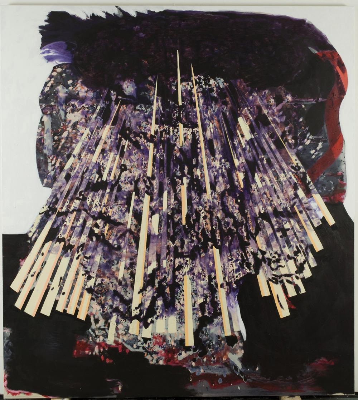 Crow – 200x180cm – acrylic on canvas – 2011/ 2012
