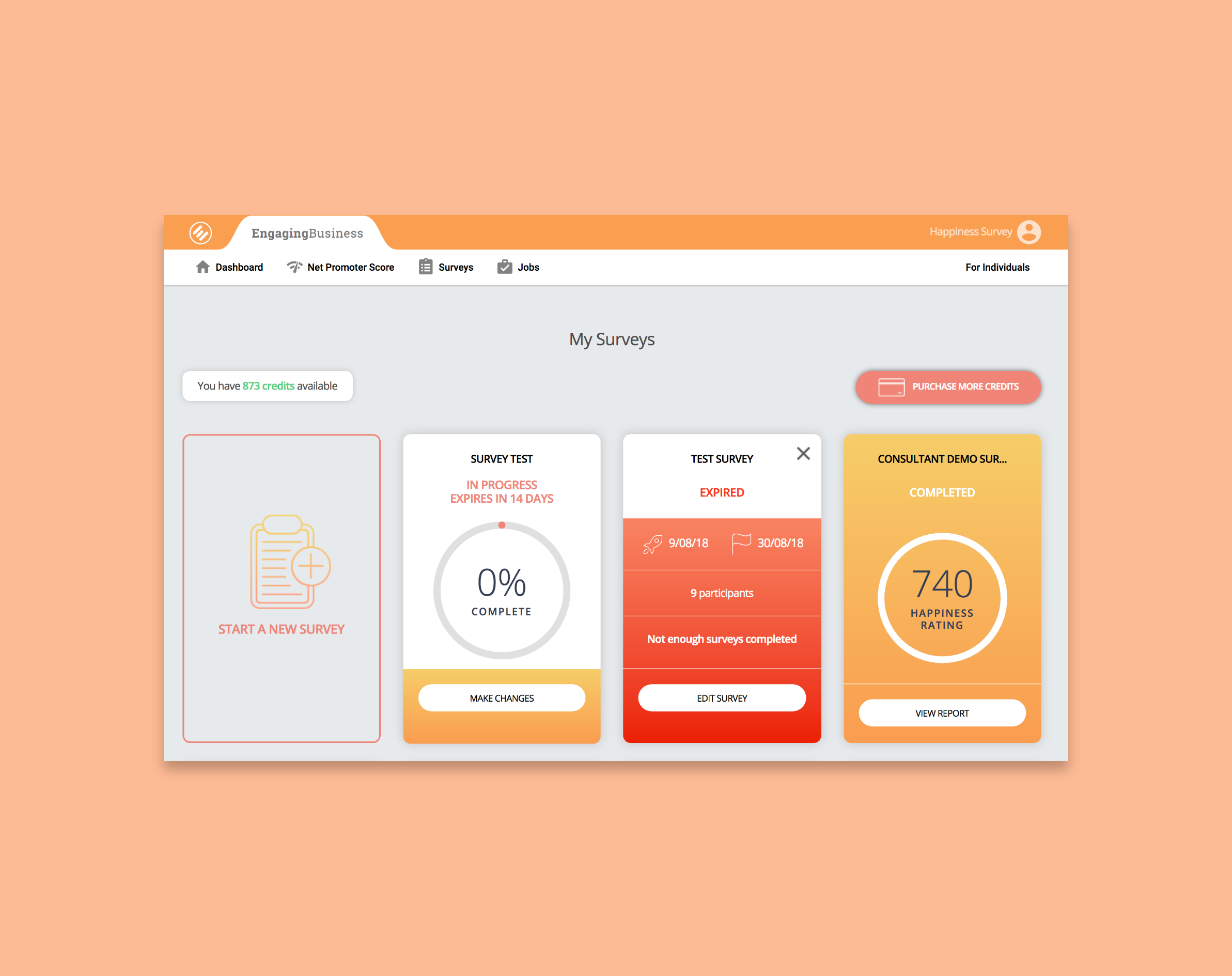 Engaging Business Dashboard