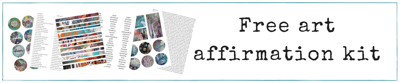 Art Affirmation Kit
