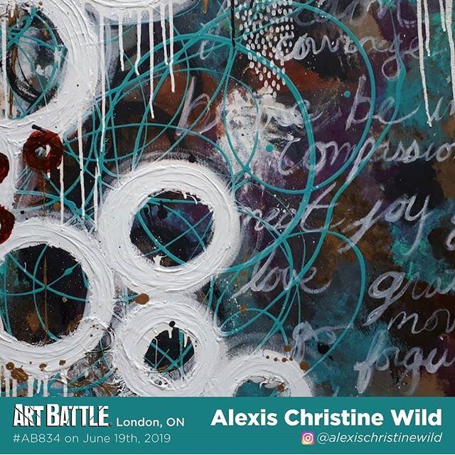 I am part of the next @artbattlelondonon on June 19th at @therecroomca Masonville Mall. Woohooo! Tickets available now! . . . . .#lndontevents #lndont #lndontartist #artbattle #abstractart #artcontest #londonontariocanada #londonontario
