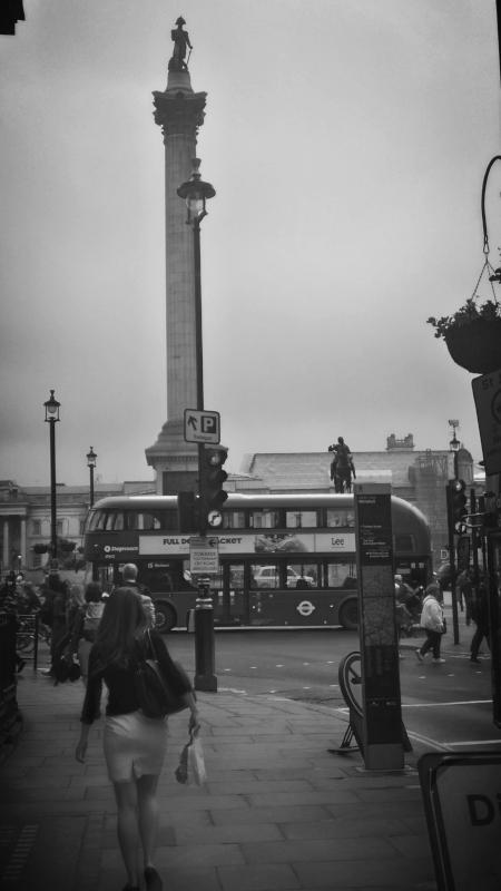 Trafalgar Square Routemaster Bus London 2016