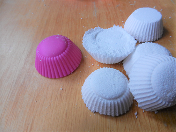 Fizzy toilet cleaning tabs home made frugal