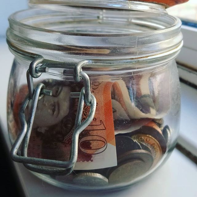 "Check the blog for our two new posts on ""five fun, functional funding fundamentals"" and our thoughts on the first steps to financial independence. Link in bio, obvs. . . . . . . . . #FIRE #financialindependence #emergencyfund #savingmoney #frugal #holidayfund #finances #cash #kilnerjar #FIREblogger #moneyblog"
