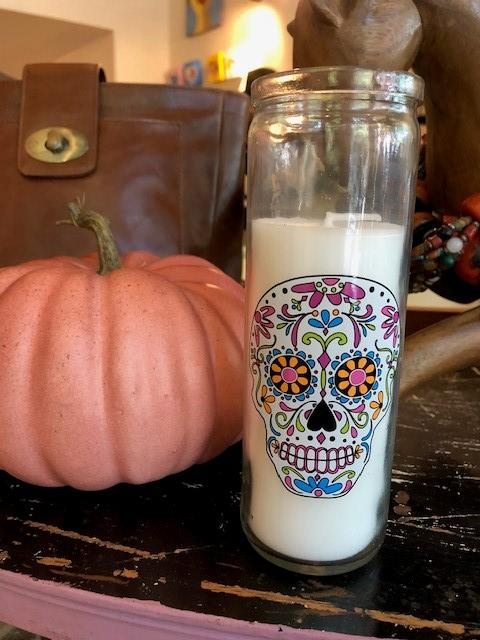 Sugar Skull Candle.jpg