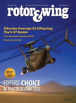 """Rotor & Wing Magazine - 2010 - IFD - Editor's Choice """"Hot Product for 2010"""""""