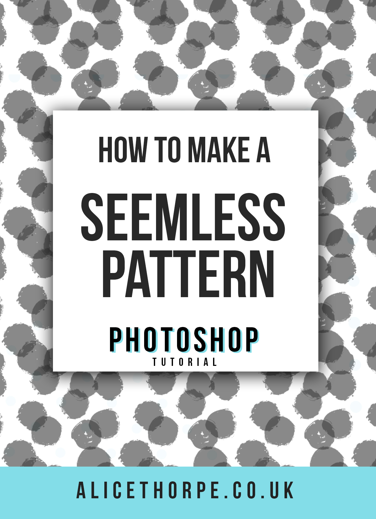 Learn how to create seamless repeatable patterns using Adobe Photoshop in only 7 minutes!! This easy to follow tutorial shows you exactly what to do when creating your own custom pattern…