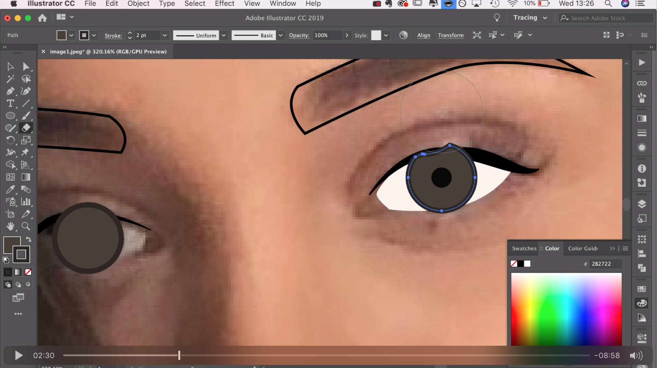 How to make a vector portrait using Adobe Illustrator