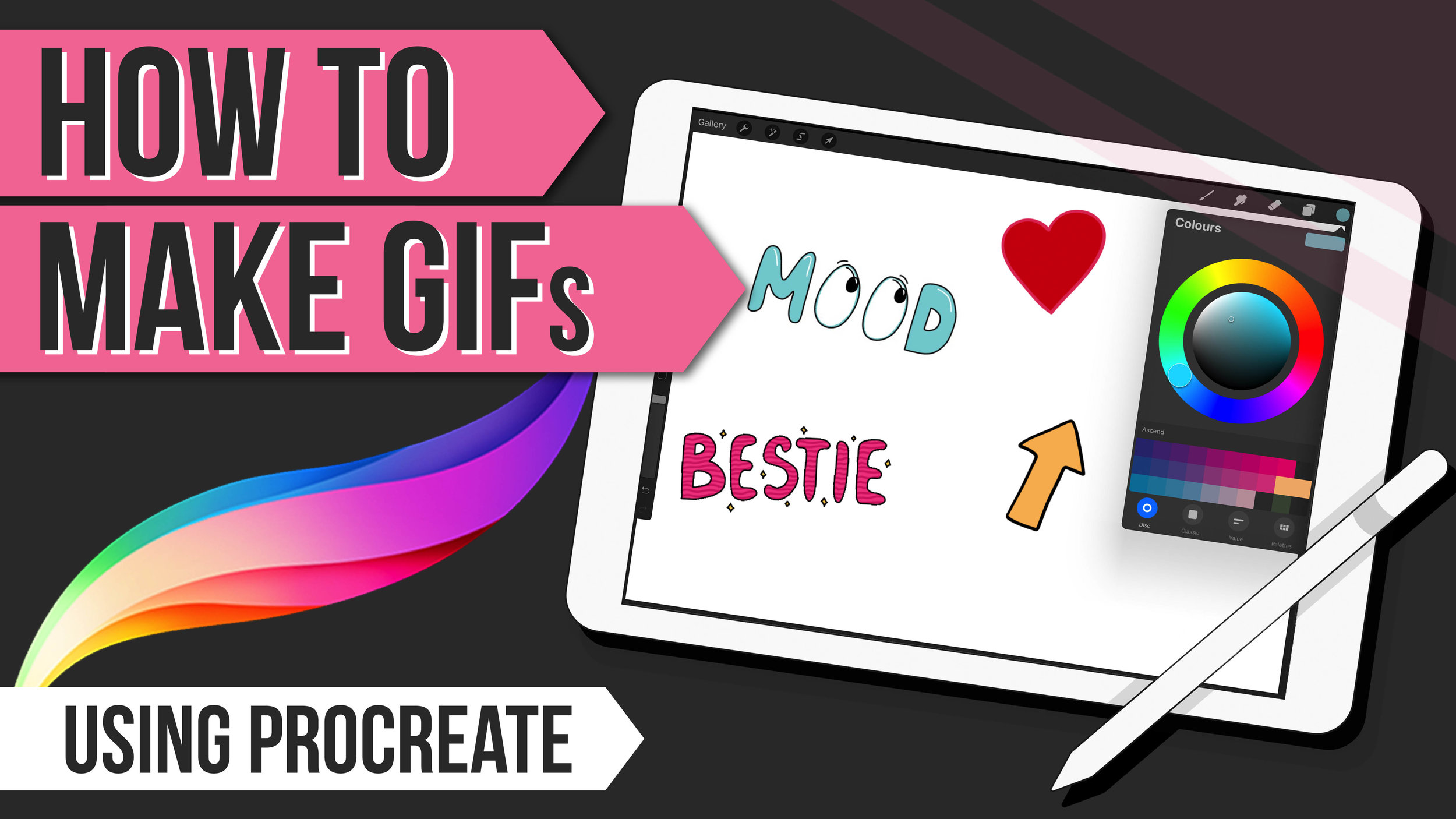 How To Make Animated GIFs in Procreate