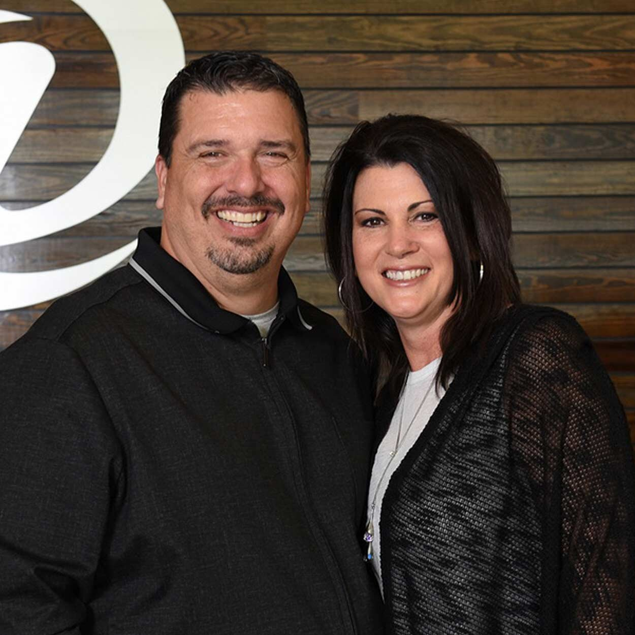 Pastors Wayne & Ginger Sheppard - LEAD PASTORSPastors Wayne and Ginger Sheppard have been in full-time ministry for 28 years. They served as student pastors for many of those years and are now the lead pastors at Destination Church in Saraland, Alabama. Arriving in Saraland in 2011, they have seen Destination Church grow from 120 to over 1500. Pastor Wayne has spoken at many conferences and churches sharing his methods of growth and his love for the local church. He believes everyone has a destiny and his passion is helping people discover their personal calling in life. Pastor Wayne and Ginger have two children. Greyson, is a recent graduate of Highlands College and serves at DC with her husband Dylan. Their son, Tyler, is in his second year of college and serves at DC.Email Wayne / Email Ginger
