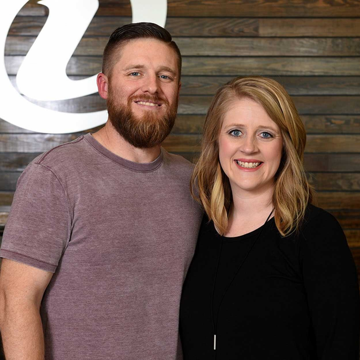 Pastors Chris & Courtnie Betzhold - CHILDREN'S PASTORChris and his wife, Courtnie, have two daughters, Landrie & Sadie. He oversees our Children's Ministries for ages 0 to 11. He has served on our leadership team for six years.Email Chris / Email Courtnie