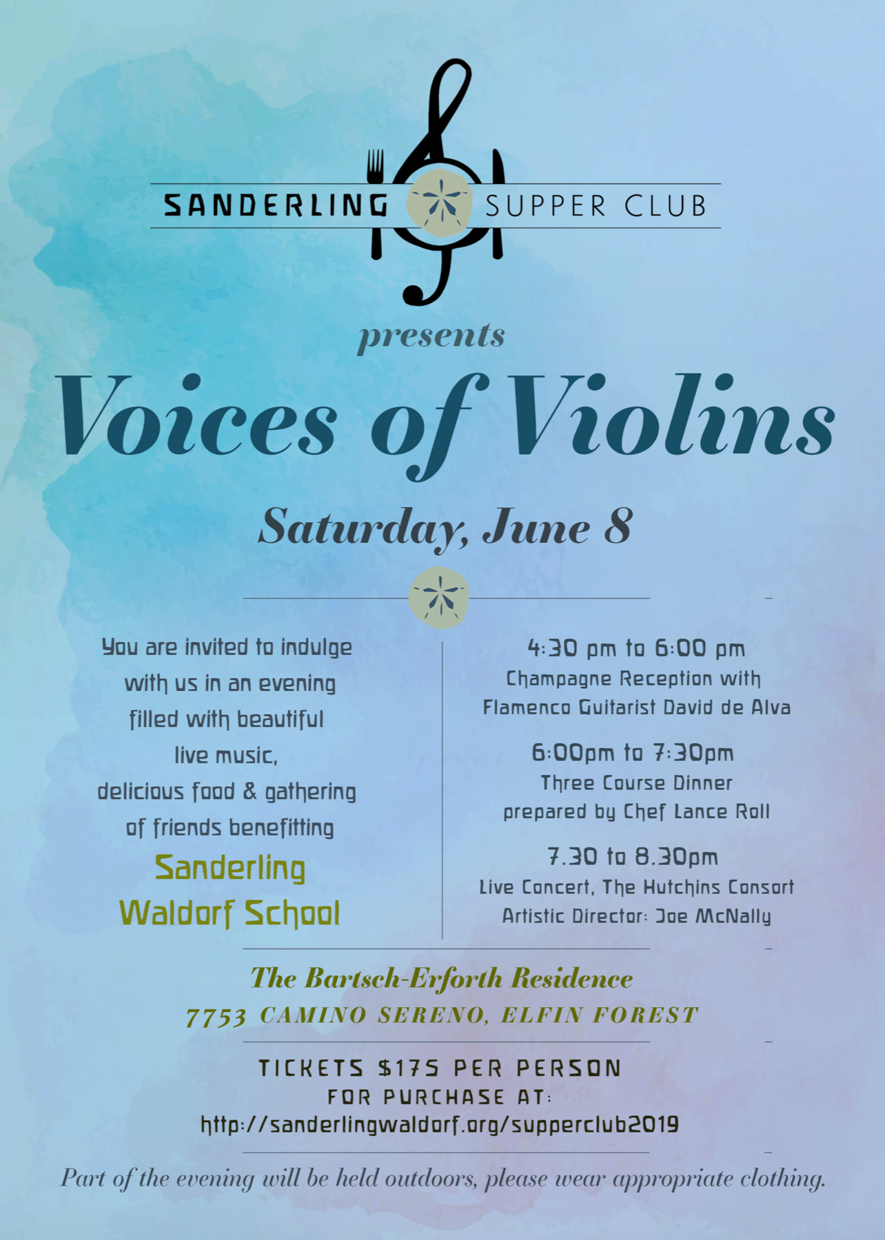 Supper Club 2019 - Voices of Violins