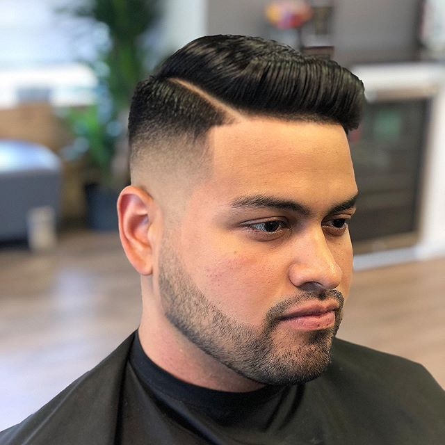 Fade of the week. Appointments available this week, make sure to book ahead!  #menshair #menssalon #barber #danburyct #hair #hairstylist #stylist #jleon