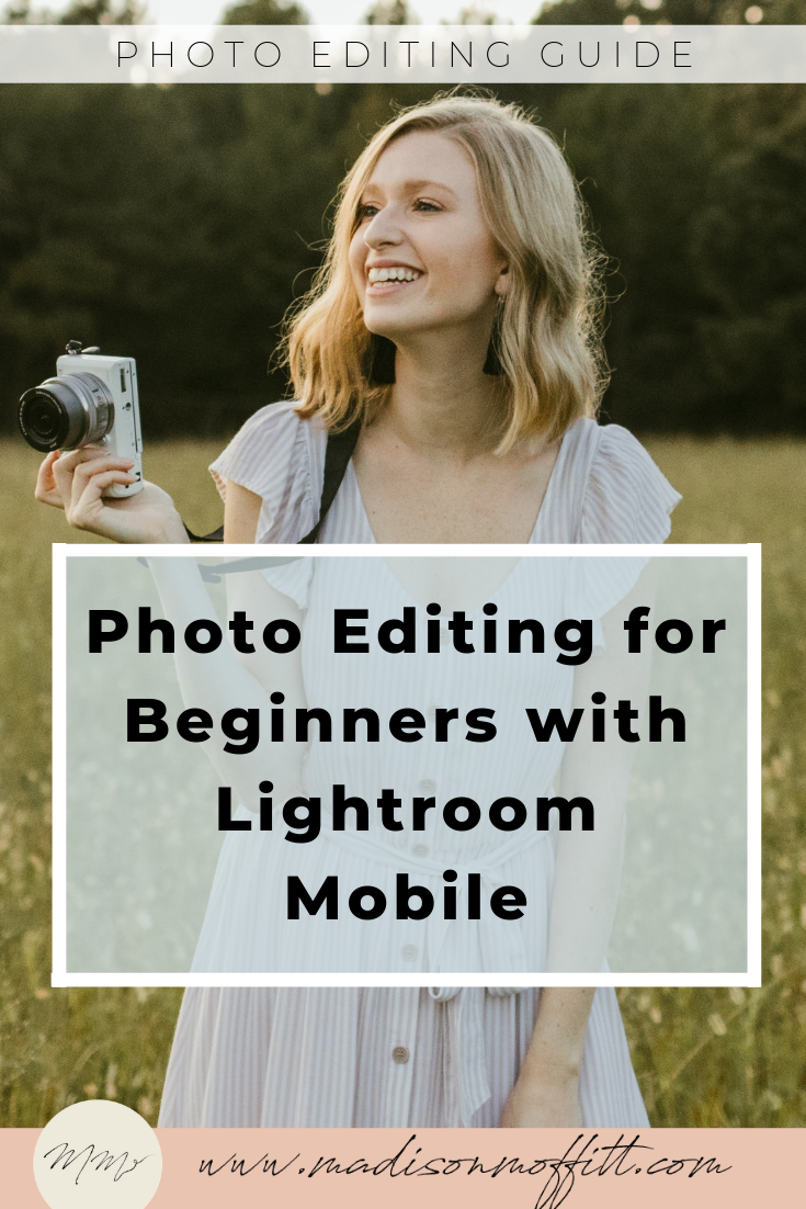 Lightroom Mobile is a FREE app you can download and use right now! You don't need an adobe cloud membership to use it, just sign up through the app for an Adobe ID and you're ready to go. Once you download the app, you can follow these 5 tips for editing your photos and creating your own preset/aesthetic!