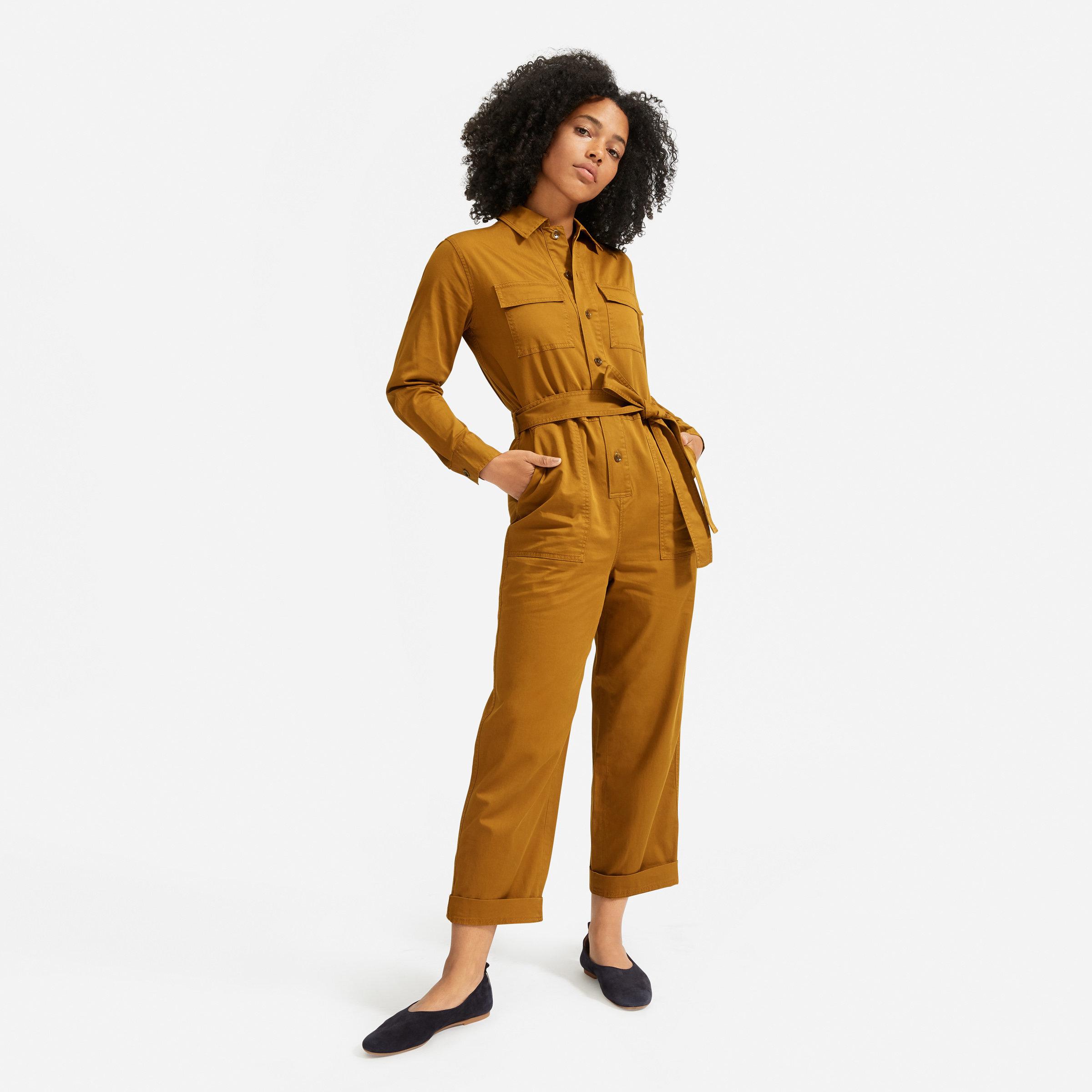 Everlane Jumpsuit Sustainable Fashion