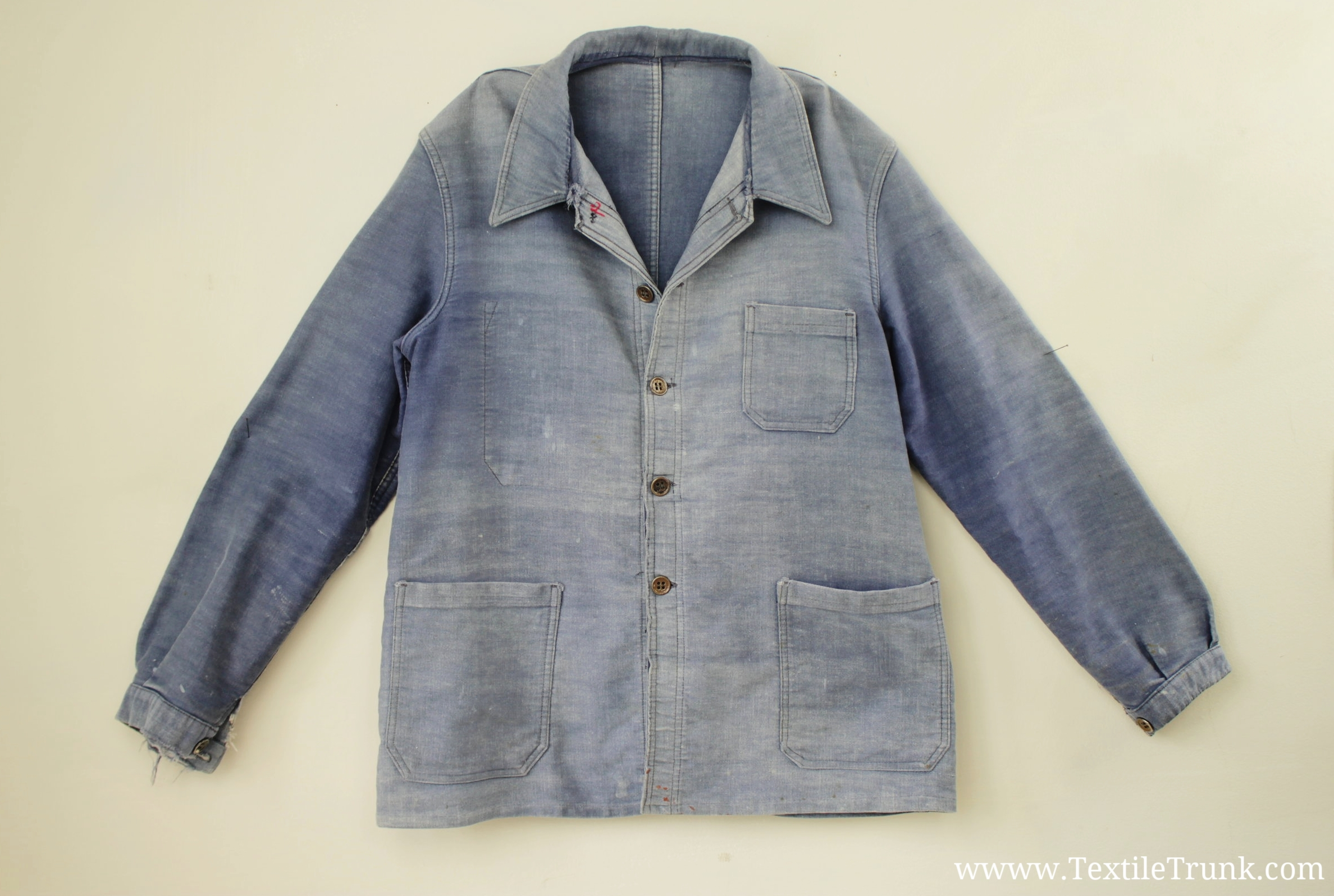 French Bleu de Travail Jacket