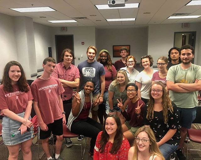 Thank you to everyone who came to our interest meetings and asked how to be involved! We're excited for you all to be a part of The Streetcar in some way!!! Don't forget the open mic this Sunday from 8-10pm in the Union. Also, online staff applications due Aug 31 at 5pm. Please contact us if you have any questions!