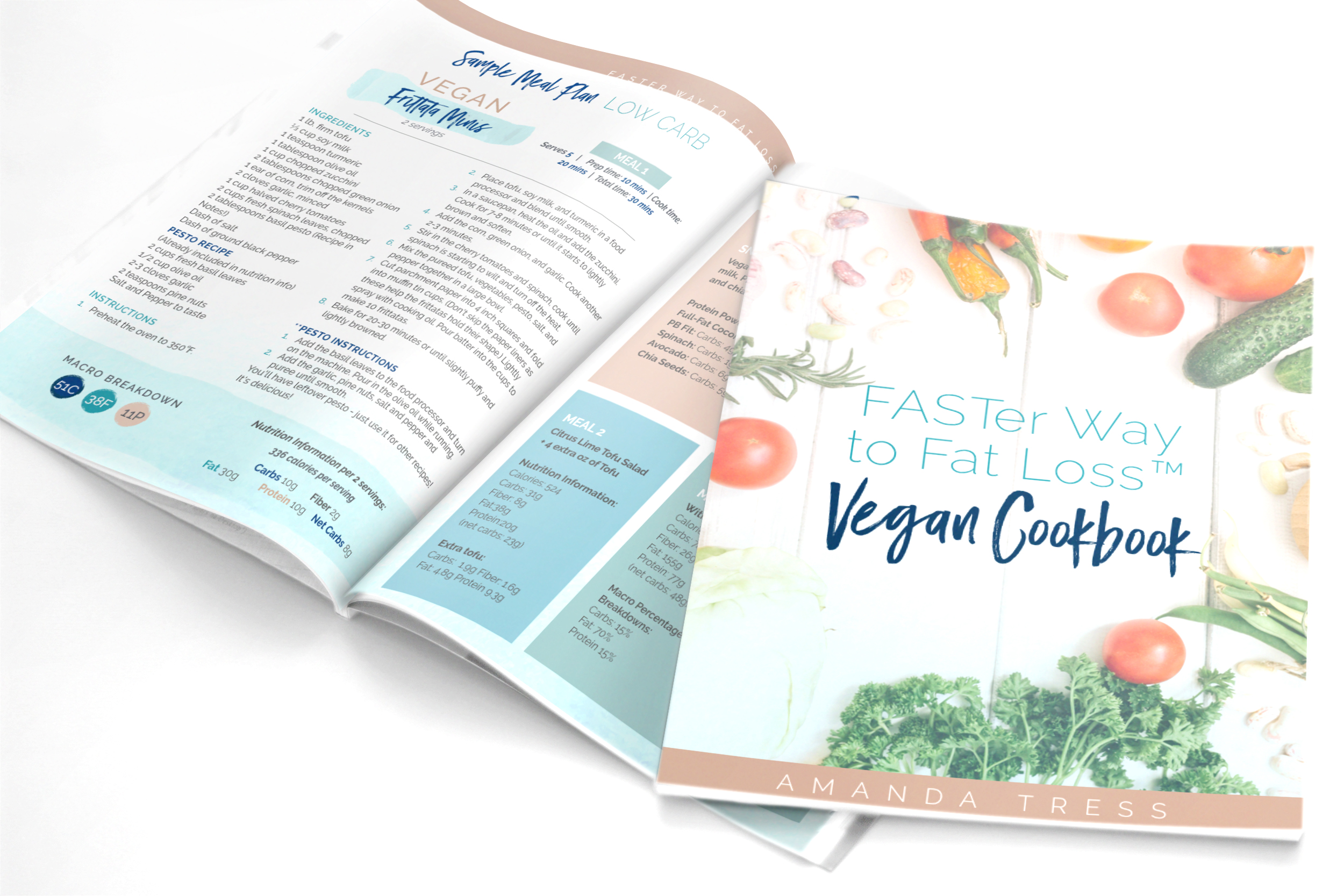 FASTer Way to Fat Loss Vegan Cookbook -