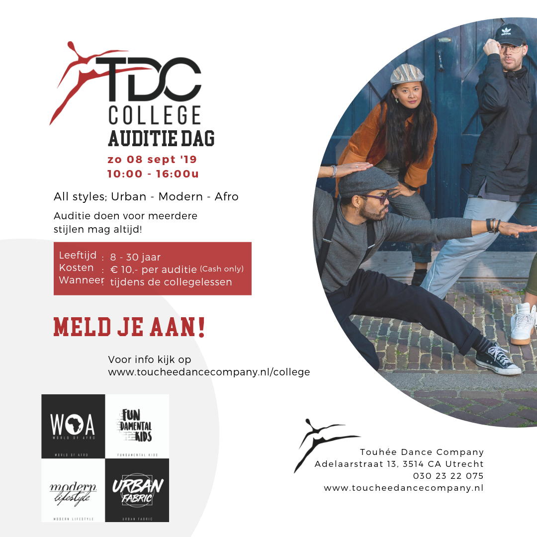 Insta TDC College auditie 8 sept.png