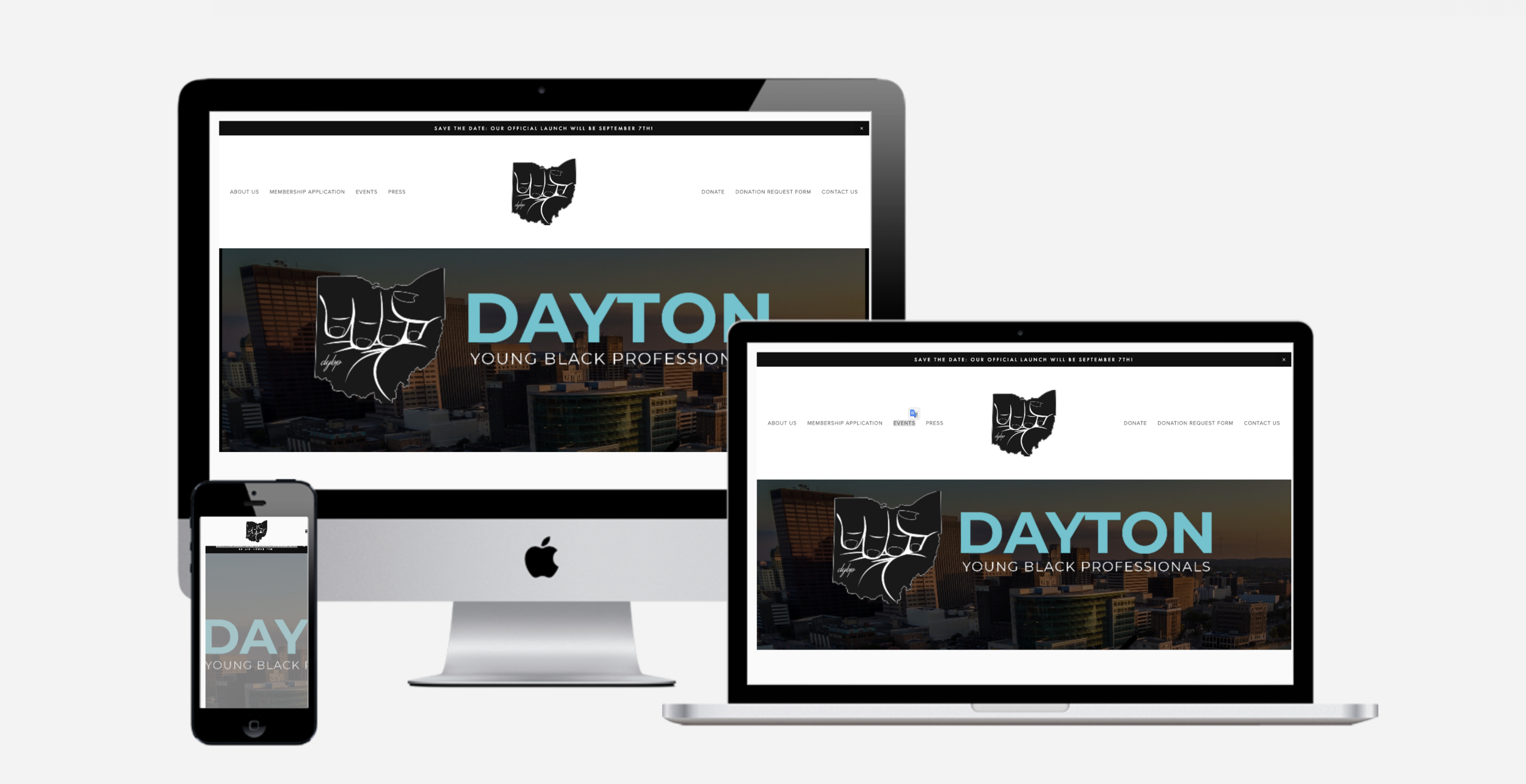 Dayton Young Black Professionals (DYBP) - A non-profit comprised of young black professional who are dedicated to the revitalization of the West Dayton through community events and philanthropic initiatives
