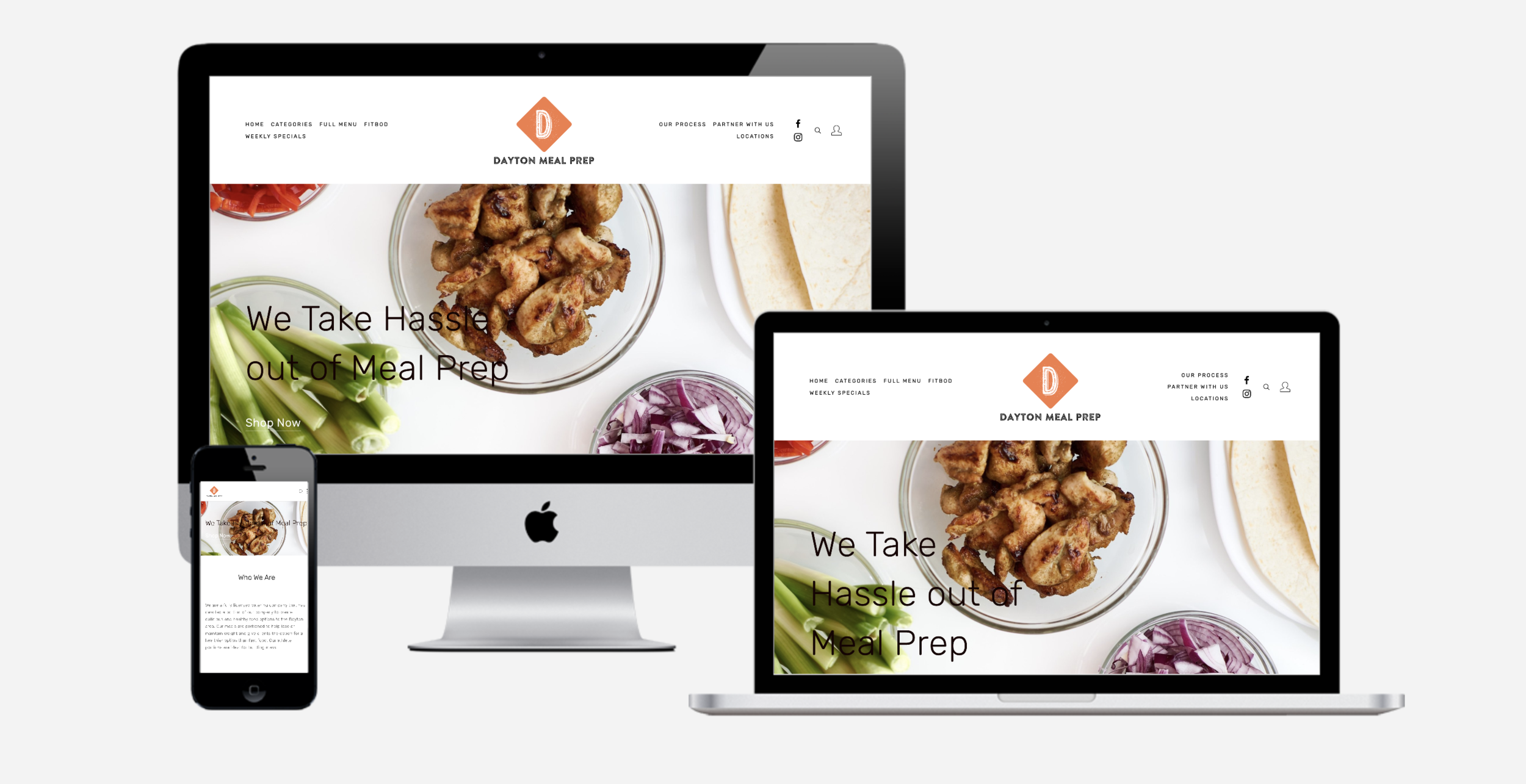 Dayton Meal Prep - A meal prep service that provides their customers with healthy convenient options to make meal prepping easy and simple !