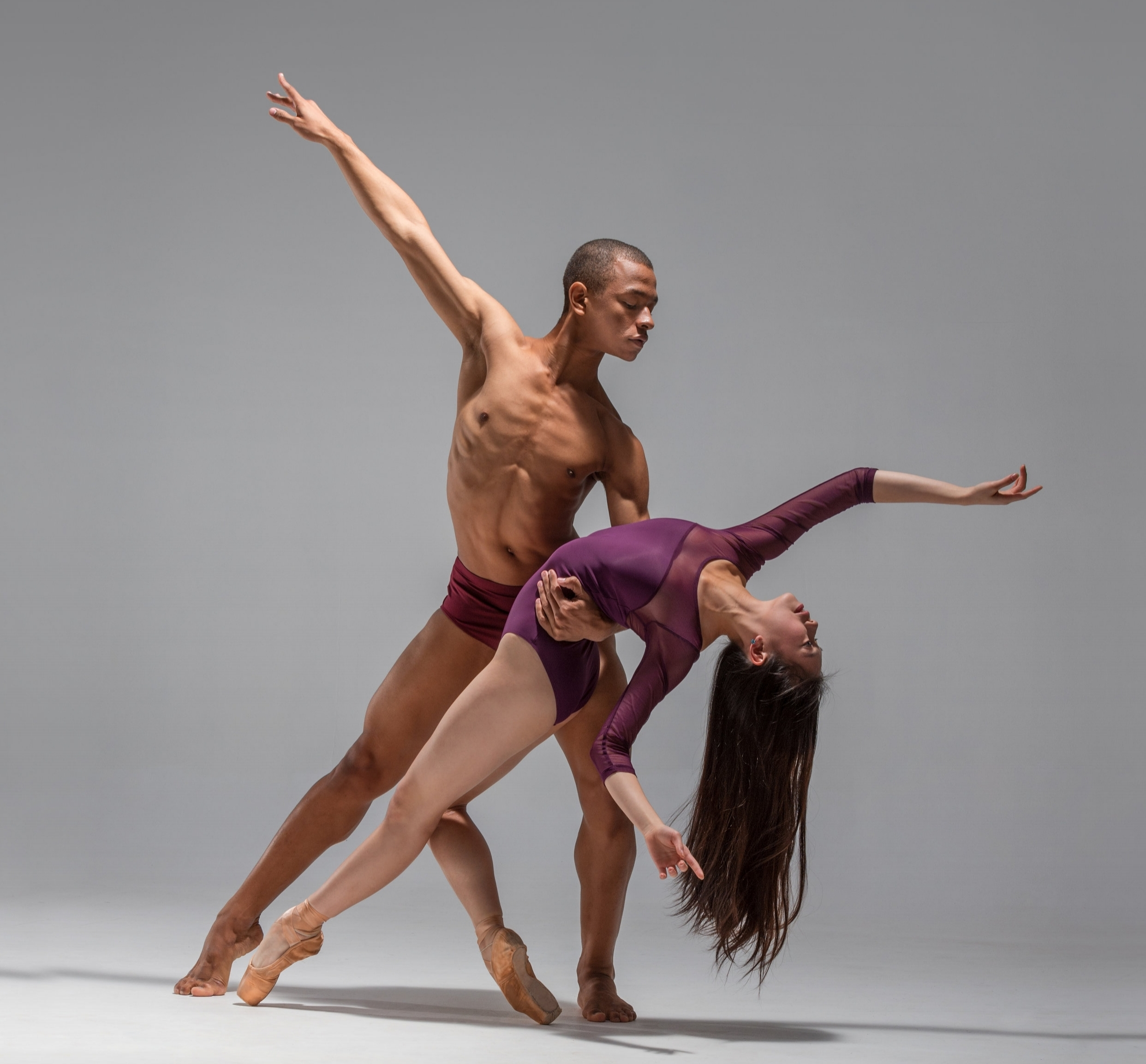 Tirion Law and Yuri Marques; New Zealand School of Dance. Photo by Stephen A'Court