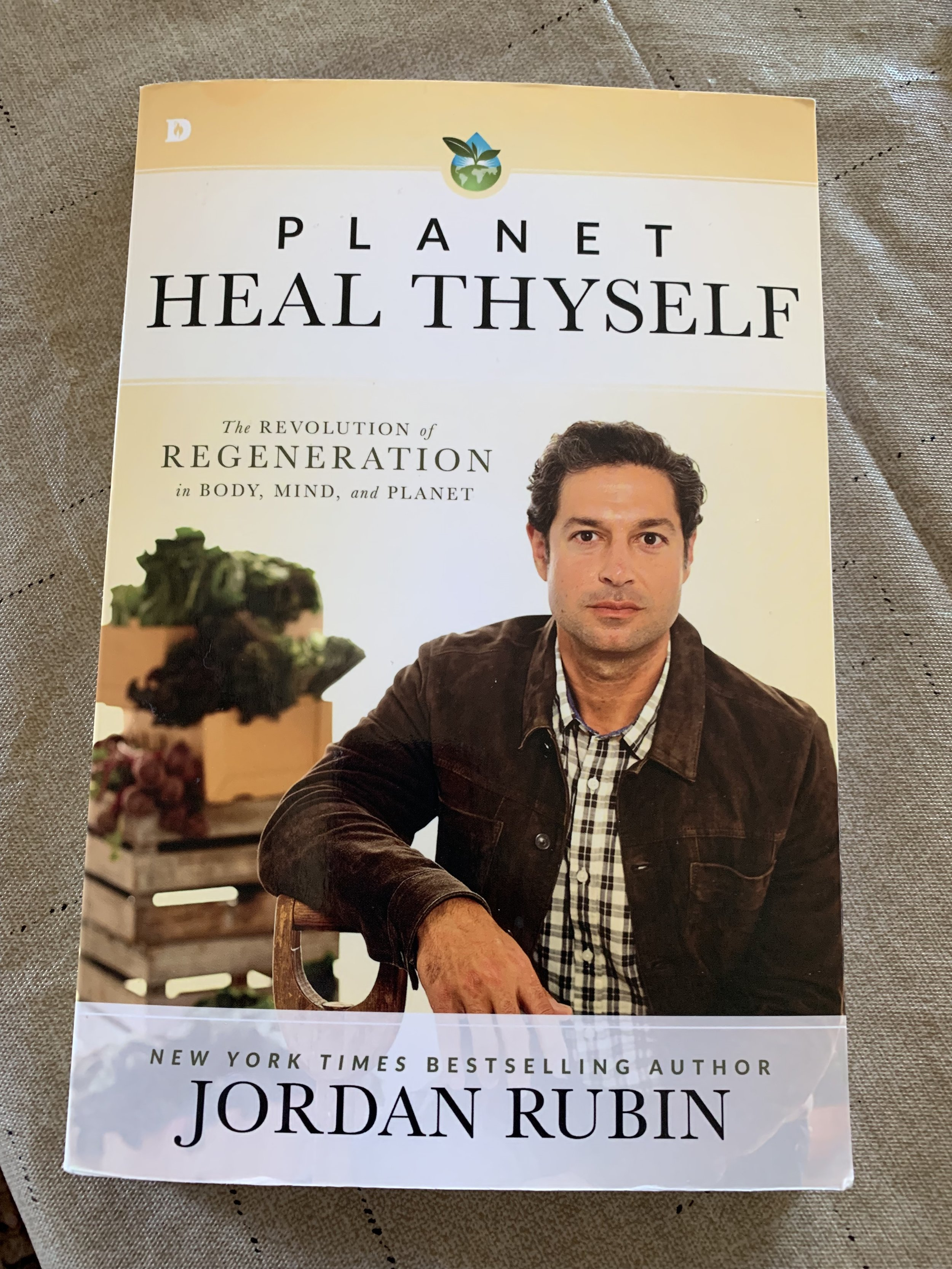 Twenty years ago, Jordan Rubin wrote a best seller that told how diet change saved his life. Now he has lots of suggestions for us to incorporate into our lives that will go a long way to saving the life of Mother Earth.