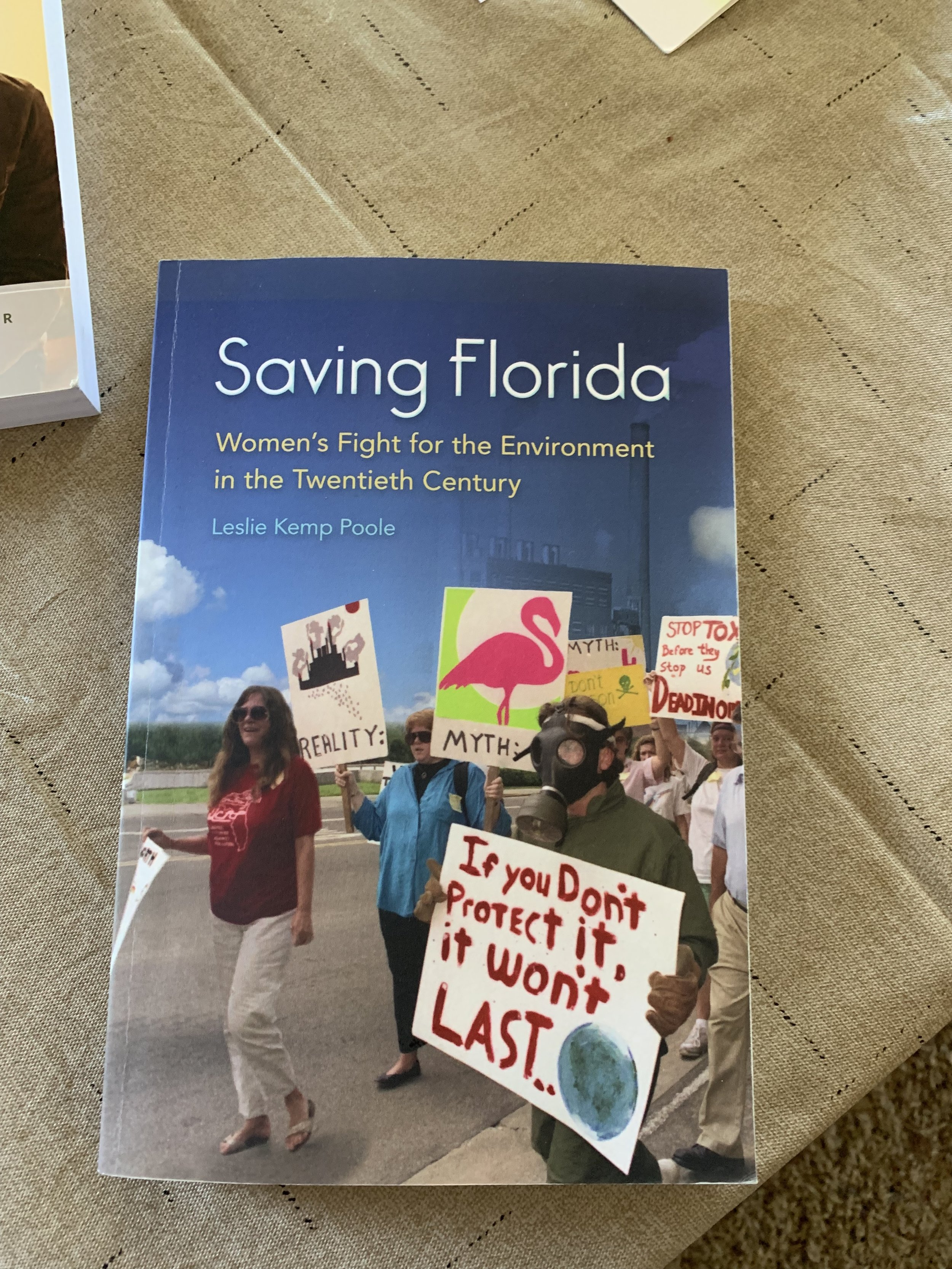 In Florida women have been at the fore front of the environmental movement. This book tells their stories.